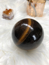 Load image into Gallery viewer, Tigers Eye Sphere (Large)