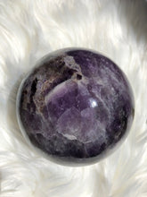 Load image into Gallery viewer, Amethyst Chevron Sphere
