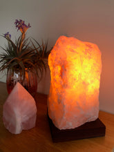 Load image into Gallery viewer, Rose Quartz Lamp - Back in stock!!!!