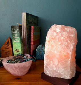 Rose Quartz Lamp - Back in stock!!!!