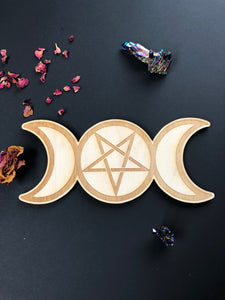 Triple Moon Pentagram Grid