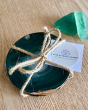 Load image into Gallery viewer, Emerald green Coaster set of 4 *ONLY 1 SET LEFT*