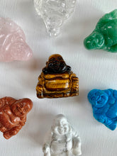Load image into Gallery viewer, Goldstone Buddha