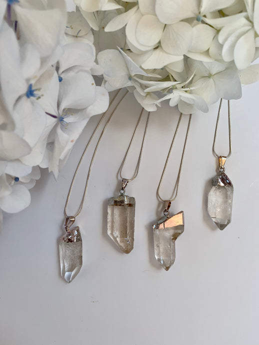 Clear Quartz Pendants
