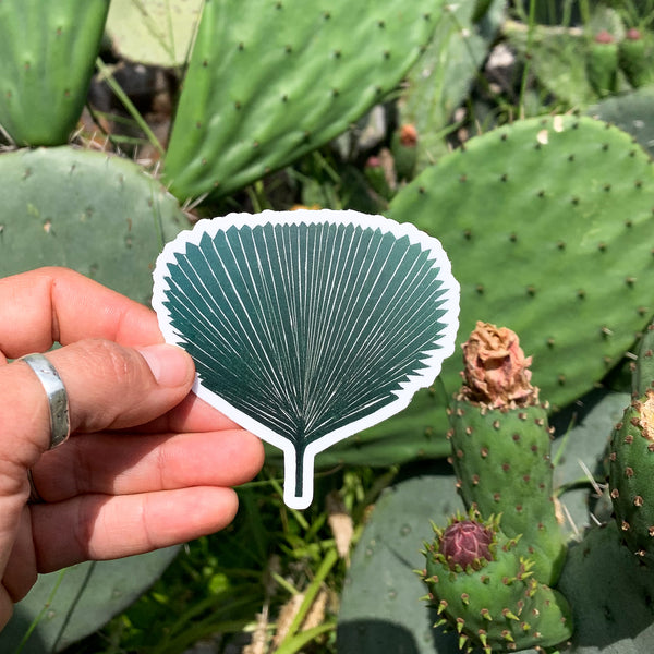 Fan Palm Sticker