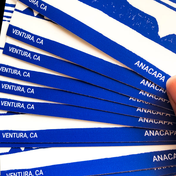 Anacapa Island Sticker