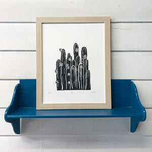 Flowering Cacti Print