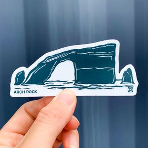 Arch Rock Anacapa Sticker
