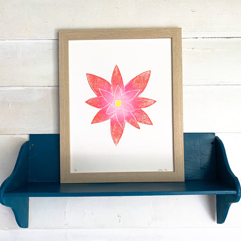 Lotus Bloom Print