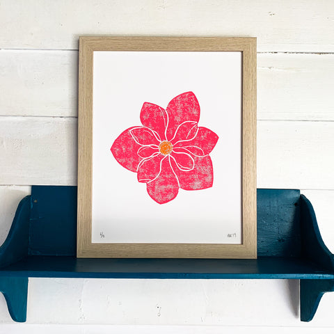 Magnolia Bloom Print