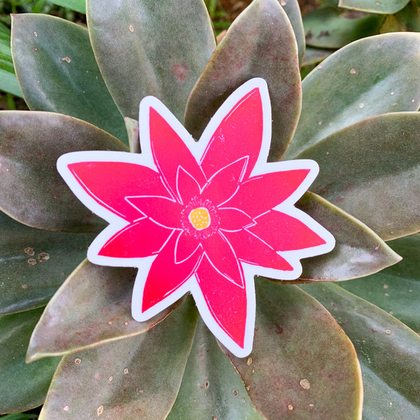 Lotus Bloom Sticker