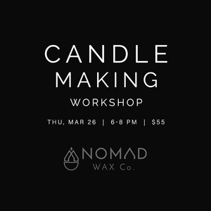 Candle Making Workshop at Hutch