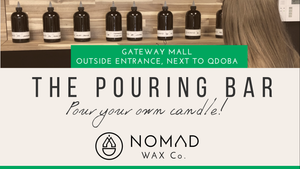 NOMAD WAX CO Pop Up in Lincoln