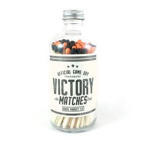 Made Market Co. - • Victory Game Day Matches Black & Orange