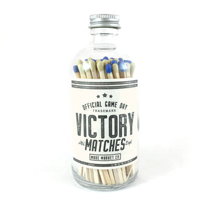 Made Market Co. - • Victory Game Day Matches Blue & Gold