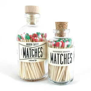 Made Market Co. - Christmas Vintage Apothecary Matches