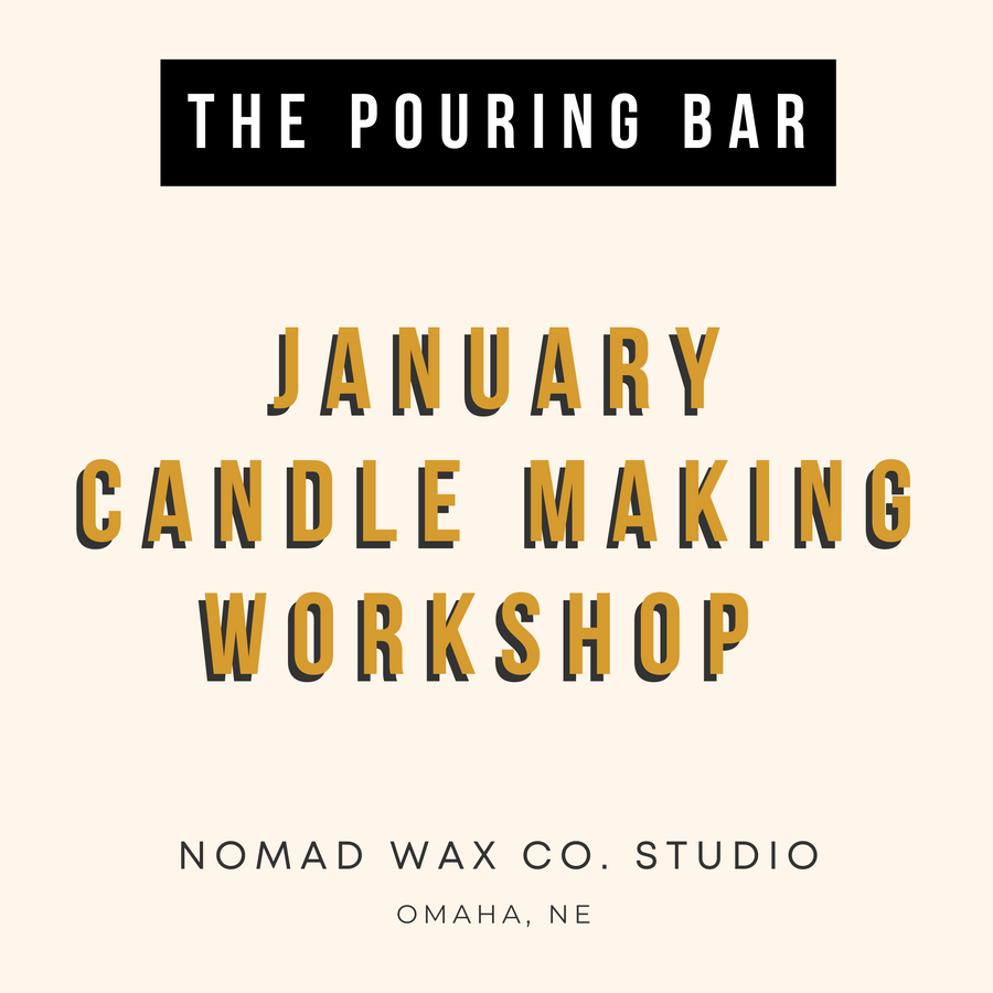 January Candle Making Workshop