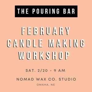 February Candle Making Workshop