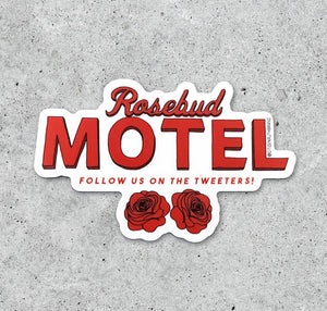 Schitt's Creek Rosebud Motel Sticker