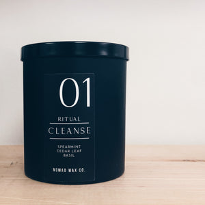Cleanse Ritual Vegan Scented Soy Candle