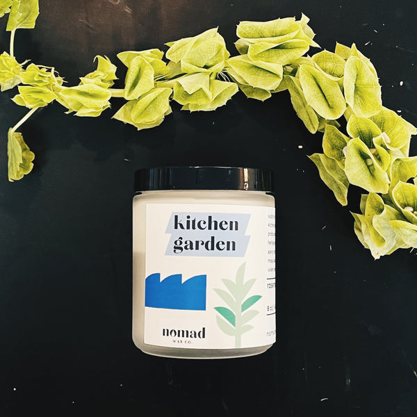Kitchen Garden Scented Soy Candle