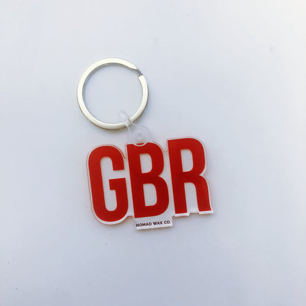 GBR Huskers Gameday Keychain
