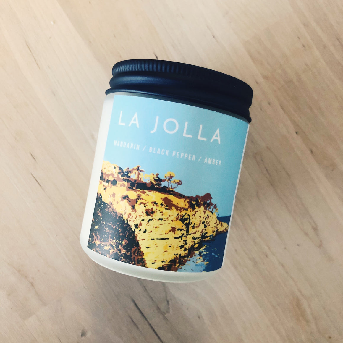 La Jolla Vegan Scented Soy Candle