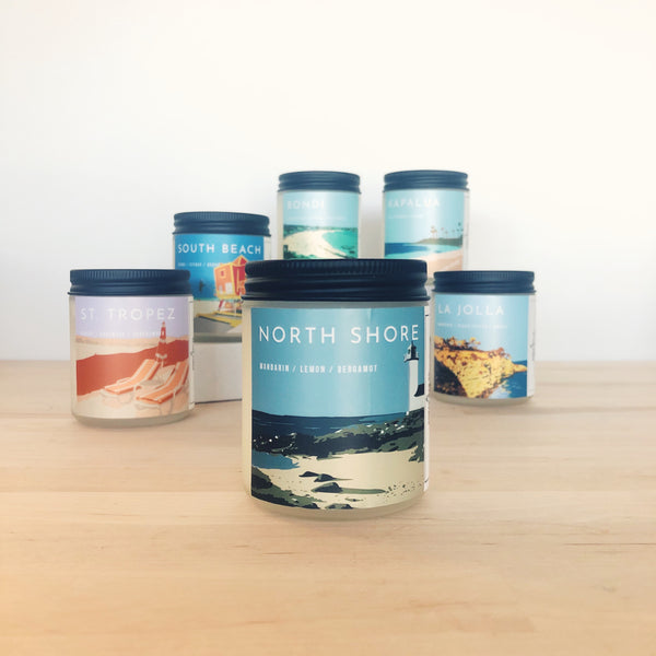 North Shore Scented Soy Candle