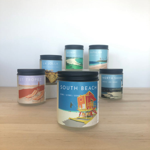 South Beach Scented Soy Candle