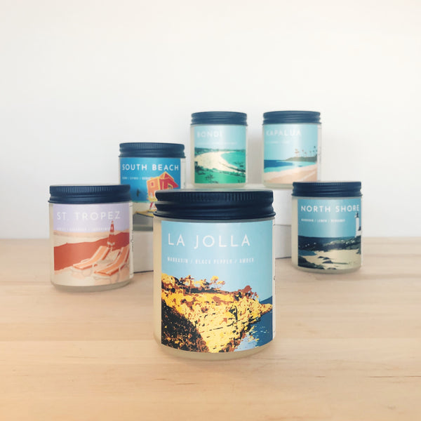 La Jolla Scented Soy Candle
