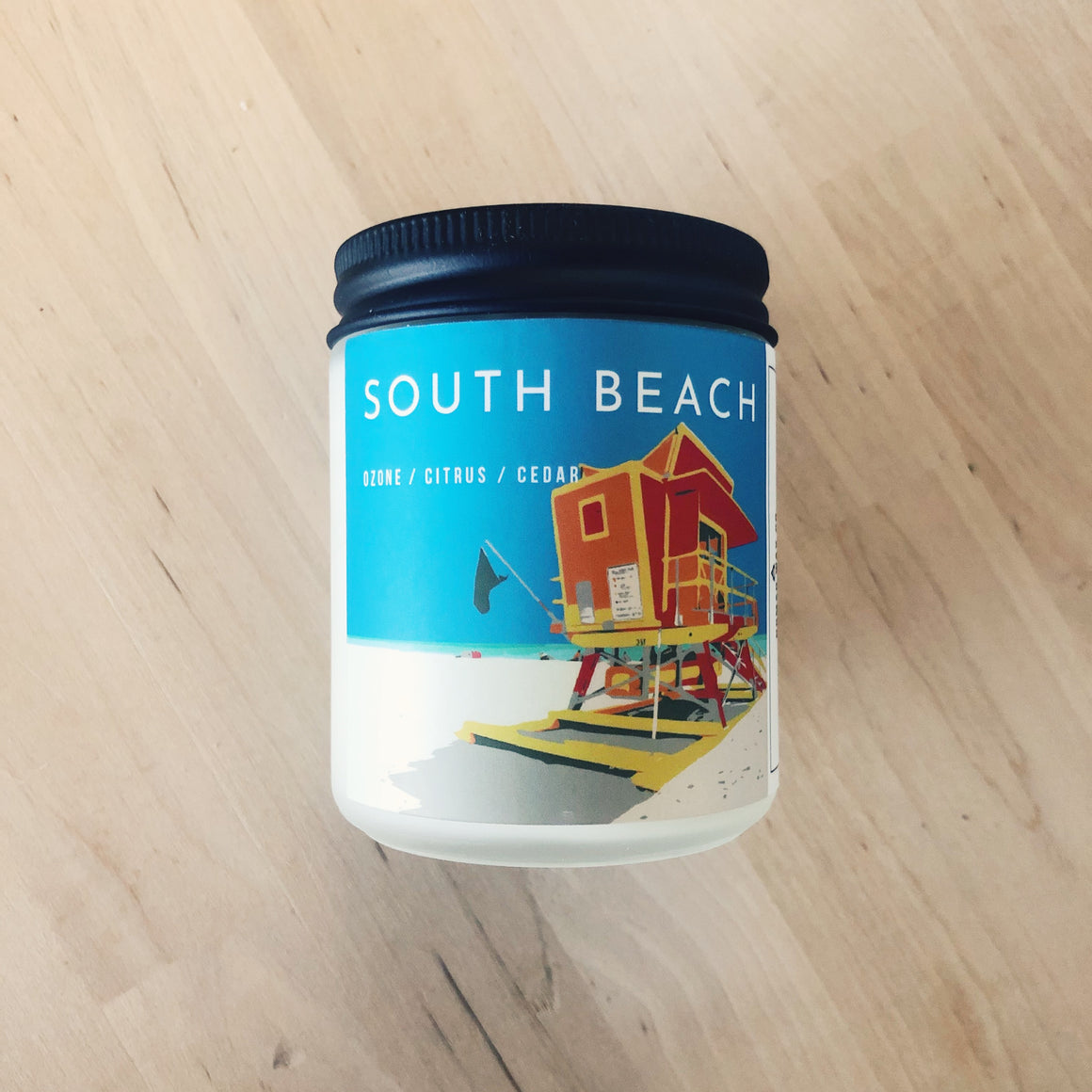 South Beach Vegan Scented Soy Candle