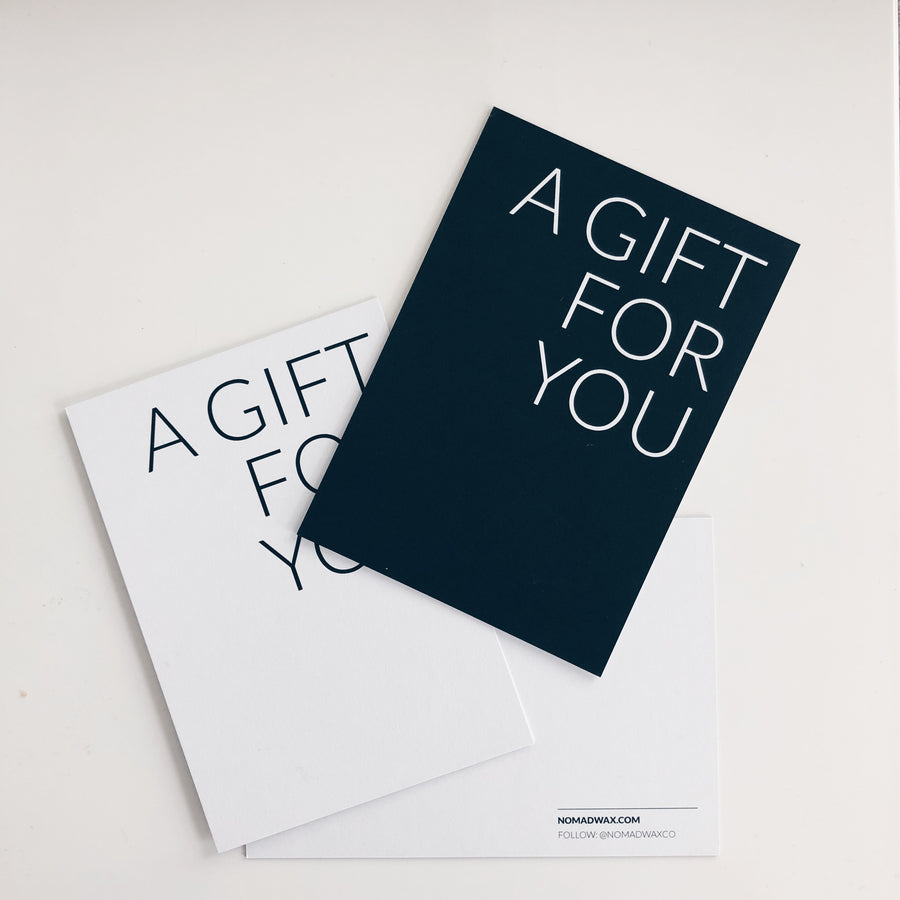 Gift Note - Anytime