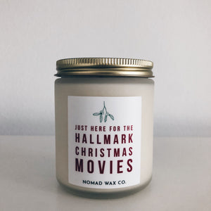Holiday Season MED Vegan Scented Soy Candle