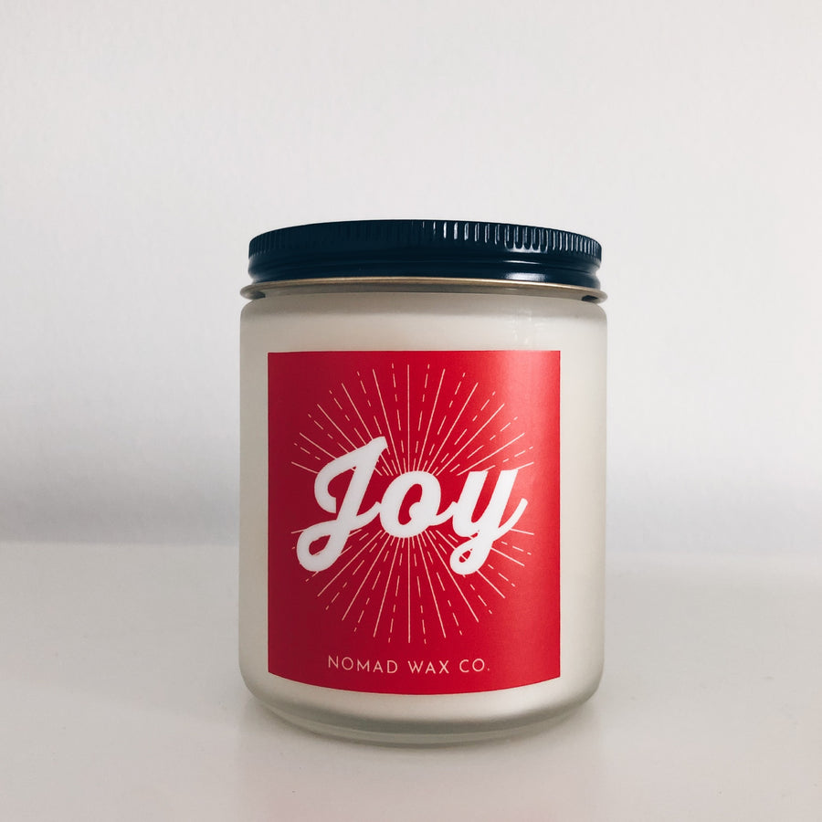 Holiday Season Vegan Scented Soy Candle