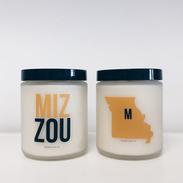 Missouri Tigers Vegan Scented Soy Candle
