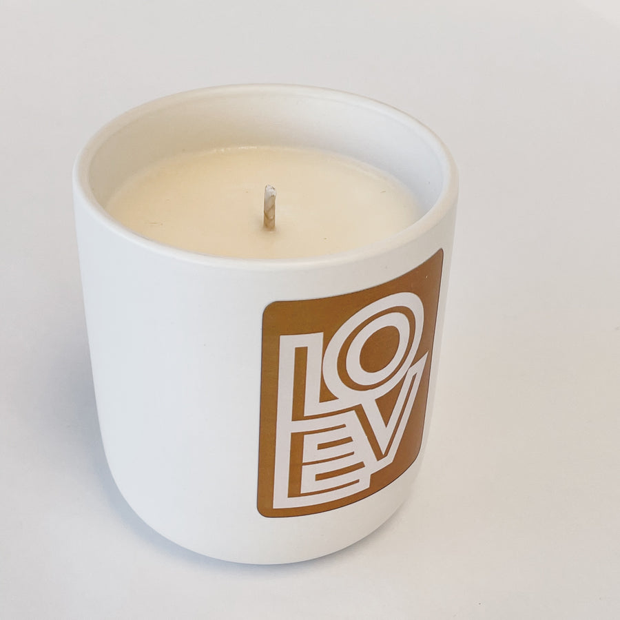 LOVE Matters - 10 oz - Limited Edition Scented Soy Valentine Candle to Benefit AFSP Nebraska