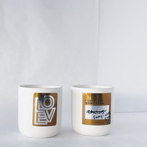 Love You More - 10 oz - Limited Edition Scented Soy Valentine Candle to Benefit AFSP Nebraska