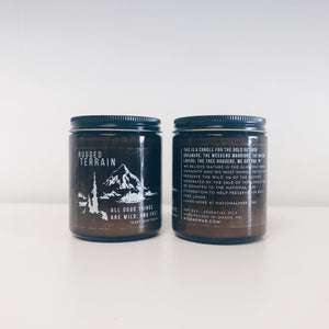 Rugged Terrain Vegan Scented Soy Candle