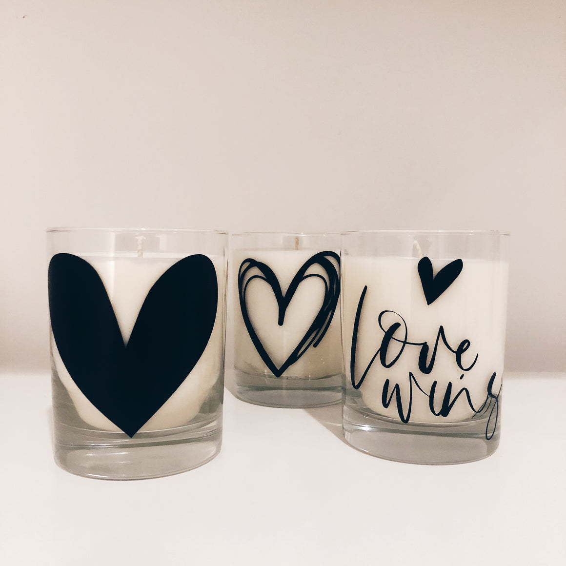 Case of Love Wins Collection - 13 oz - Rocks Tumbler Vegan Scented Soy Candle