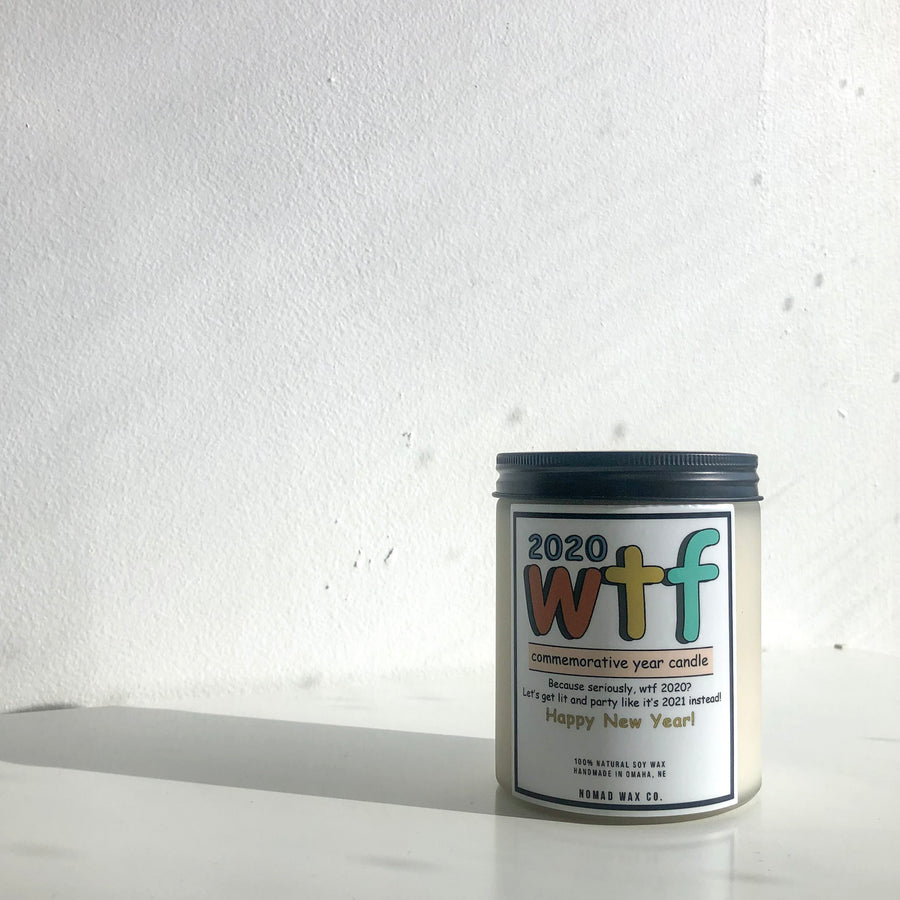 2020 WTF Commemorative New Year Candle