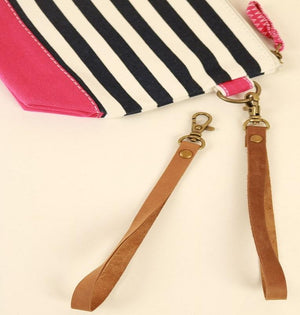 Shorebags.com - Nubuck Leather Wristlet (Pouch not included)