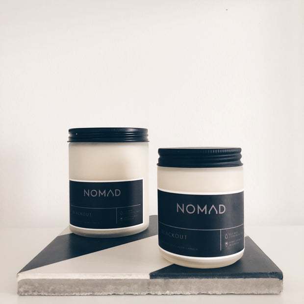 Blackout Scented Soy Candle 1