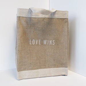 Love Wins Apolis Vegan Market Bag