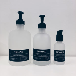 MD 8 oz + Travel Wash Ya Hands Sanitizer Set