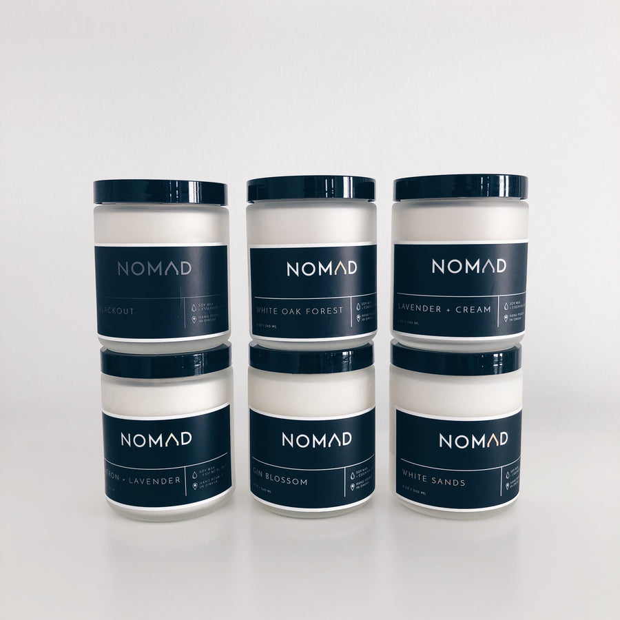 Case of 8 oz Soy Candles - Essentials Collection
