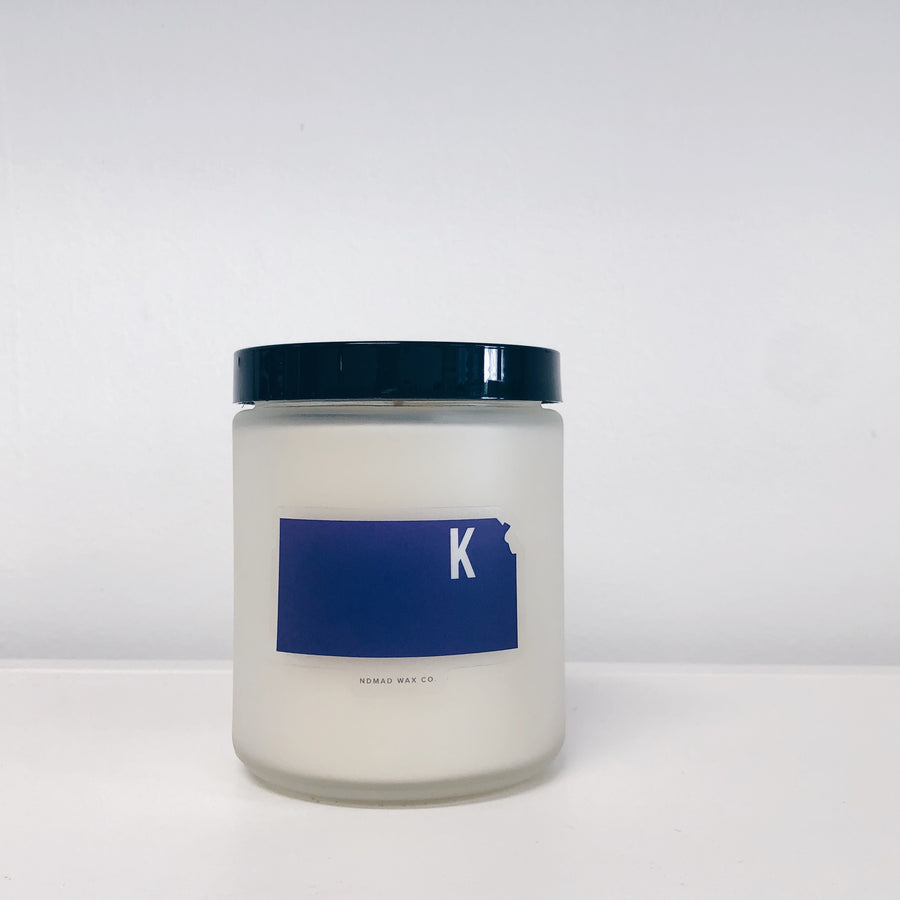 Kansas State Vegan Scented Soy Candle