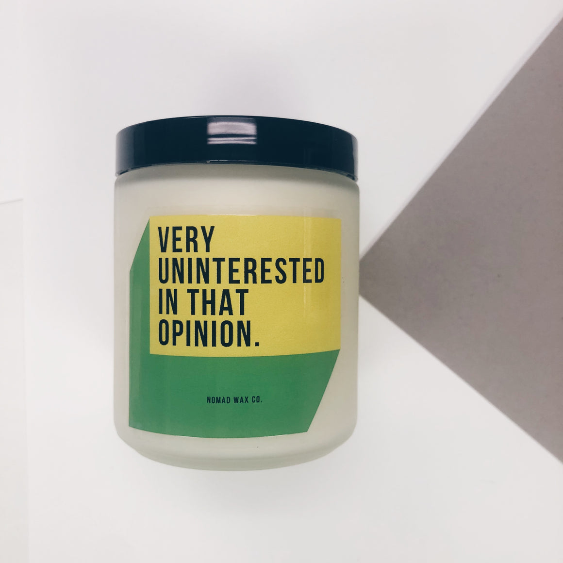 Very Uninterested in That Opinion - Schitt's Creek - Vegan Scented Soy Candle