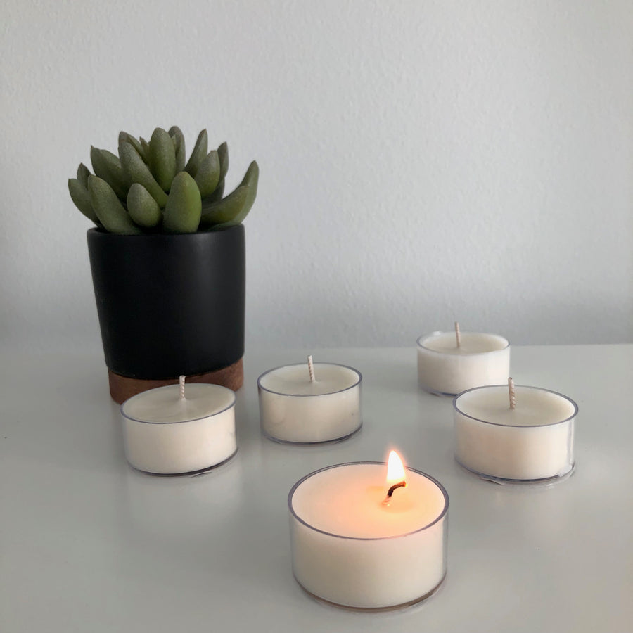Tealight Candles in Any Scent - set of 3