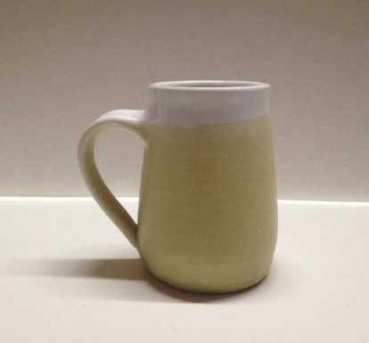 Helen Burton Yellow Ceramic Mug