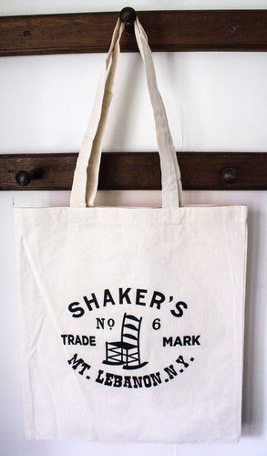 Mount Lebanon Shaker Chair Trademark Tote Bag